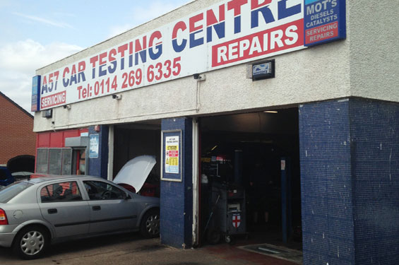 vehicle repairs sheffield